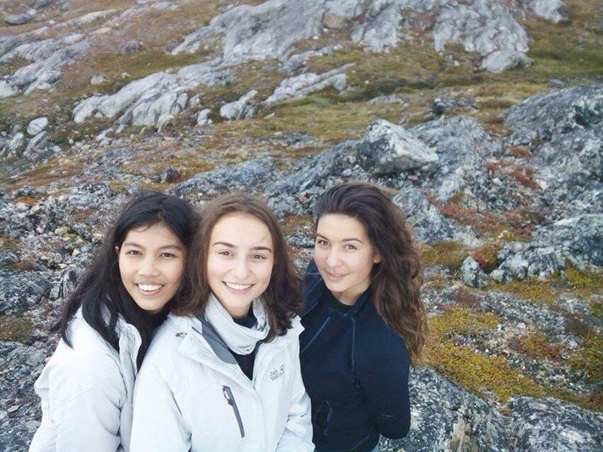 Nesha, Delphine and Kalinda