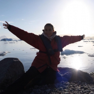 """It is warmer in the arctic than I expected."" – Delphine (Germany)"